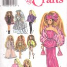 Simplicity Sewing Pattern 7952 Barbie Doll Glamour Outfits Uncut and Unused