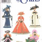 Simplicity Sewing Pattern 9062 Barbie Doll Victorian Outfits Uncut and Unused