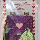 Disney Love Letters Hinged Pin December 2016 Tiana and Naveen Limited Edition 3000 Sealed