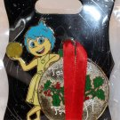 Walt Disney Imagineering WDI Christmas 2015 Gift Tag Pin Inside Out Joy Limited Edition 250
