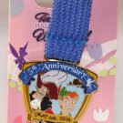 DLR runDisney 2016 Tinker Bell Half Marathon Weekend Ribbon Medal Pin 5K Run Limited Release