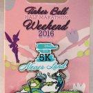 DLR runDisney 2016 Tinker Bell Half Marathon Weekend 5K Run Pin Limited Release