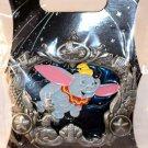 Walt Disney Imagineering WDI Disneyland Attractions Ornate Border Pin Flying Elephant Ltd Ed 300