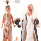 Vogue Sewing Pattern 7162 Barbie Doll Outfits Vintage Style Uncut and Unused