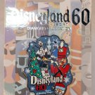 Disneyland 60th Anniversary Decades Collection Pin 60 Years of Holidays Limited Edition 3000