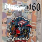 Disneyland 60th Anniversary Decades Collection Pin 1975 to 1984 Limited Edition 3000