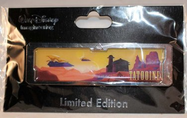 Walt Disney Imagineering WDI Star Wars Star Tours Vacation Poster Pin Tatooine Limited Edition 300