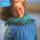 Pingouin Knitting Magazine Number 96 Children 1987 41 Couture Designs from France