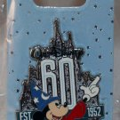 Walt Disney Imagineering WDI 60th Anniversary Sorcerer Mickey Pin Limited Edition 250