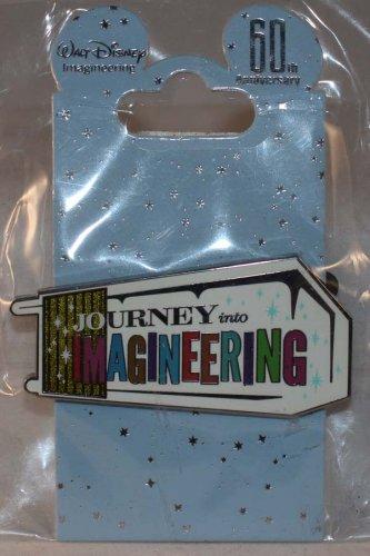 Walt Disney Imagineering WDI 60th Anniversary Journey Into Imagineering Pin Limited Edition 500