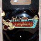 Walt Disney Imagineering WDI Retro Logo Pin Sorcerer Mickey Limited Edition