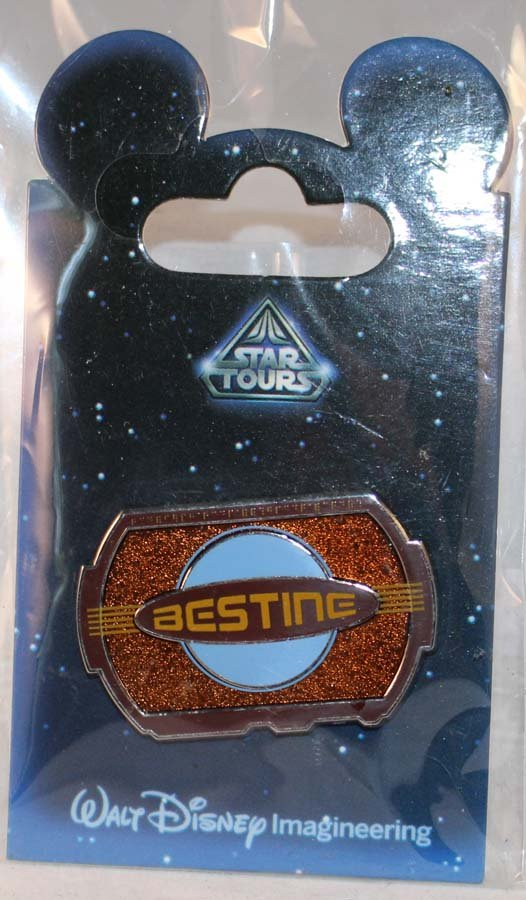Star Tours Pin Limeted Edition