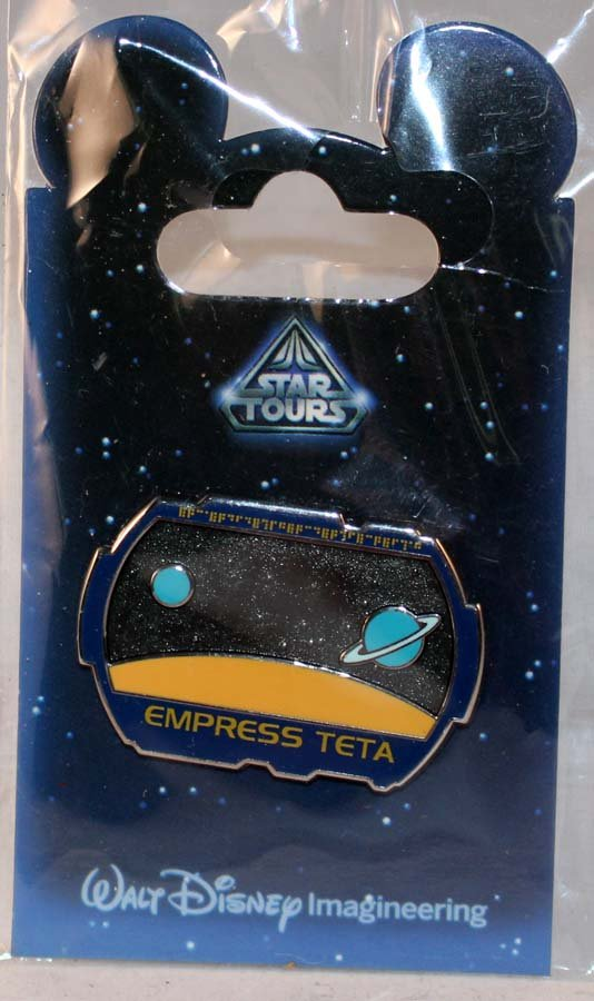 Walt Disney Imagineering WDI Star Tours Mystery Pin Empress Teta Limited Edition 200