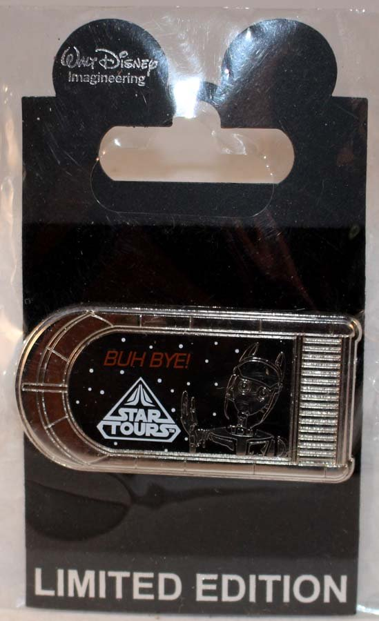 Star Tours Pin Limited Edition