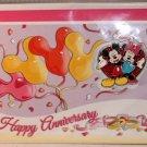 Walt Disney Imagineering WDI Happy Anniversary Card and Pin Set Limited Edition 300