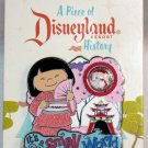 A Piece of Disneyland History Pin with Souvenir It's A Small World 2013 Limited Edition 1000