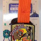 runDisney Disneyland 2016 Half Marathon Weekend 5K Ribbon Medal Pin Limited Release