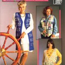 Annie's Attic Crochet Quick and Easy Vests 6 Designs
