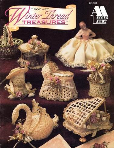 Annie's Attic Crochet Winter Thread Treasures 13 Designs
