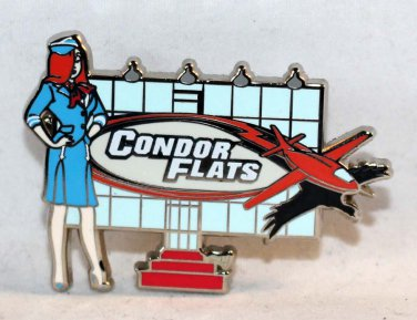 Disneyland Resort Reveal-Conceal Mystery Pin Collection Condor Flats Limited Release