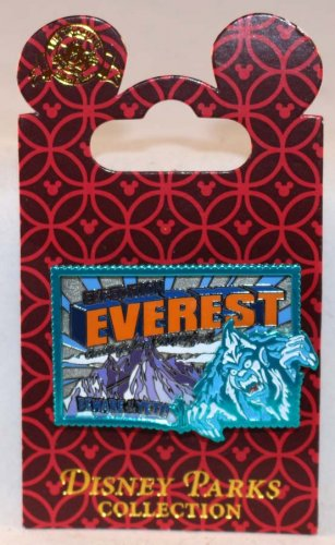 Walt Disney World Expedition Everest Pin Beware of the Yeti