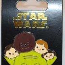 Disney Parks Star Wars Tsum Tsum Pin Yoda Luke Han Leia