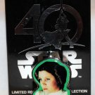 Disney Star Wars 40th Anniversary Mystery Pin Chaser Princess Leia Limited Edition 1500