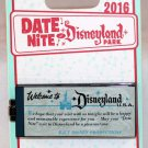 Date Nite at Disneyland Park 2016 Ticket Book Pin Limited Edition 1000