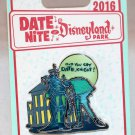 Date Nite at Disneyland Park 2016 Haunted Mansion Stained Glass Pin Limited Edition 1000