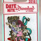 Date Nite at Disneyland Park 2016 Girl's Nite Out Minnie and Daisy Pin Limited Edition 1000