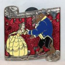 Date Nite at Disneyland Park 2016 Dancing Couples Mystery Pin Belle and Beast Limited Release