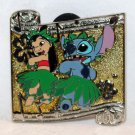 Date Nite at Disneyland Park 2016 Dancing Couples Mystery Pin Lilo and Stitch Limited Release