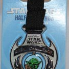 Disneyland runDisney 2015 Inaugural Star Wars Half Marathon Weekend Rebel Challenge Medal Pin LtdRel