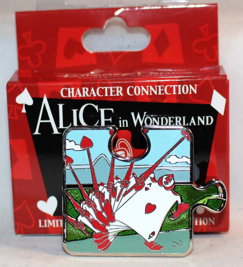disney character connection alice in wonderland puzzle