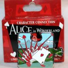 Disney Character Connection Alice in Wonderland Puzzle Piece Mystery Pin Card Guards Ltd Ed 1100