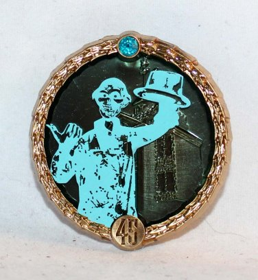 Disneyland Haunted Mansion 45th Anniversary Mystery Pin Collection Ezra Limited Release