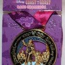 runDisney Disneyland Resort and Walt Disney World 2017 Coast-to-Coast Challenge Pin Purple Ribbon