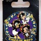 Disney Cinco De Mayo 2016 Mickey Donald Goofy Pin Limited Edition 2500