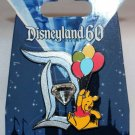 Disneyland 60th Anniversary Diamond D Pin of the Month Winnie the Pooh Limited Edition 3000