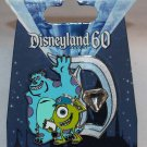 Disneyland 60th Anniversary Diamond D Pin of the Month Mike and Sulley Limited Edition 3000