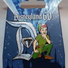 Disneyland 60th Anniversary Diamond D Pin of the Month Peter Pan Limited Edition 3000