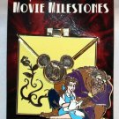 Disneyland Movie Milestones Pin Beauty and the Beast LImited Edition 2000