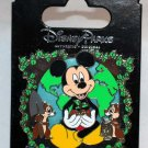 Disney Earth Day 2013 Pin Mickey Chip and Dale Limited Edition 2000