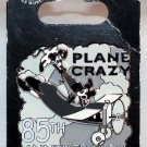 Disney Plane Crazy 85th Anniversary Pin Limited Edition 2000 Mickey and Minnie
