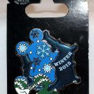 Disney Winter 2015 Stained Glass Pin Mickey Mouse Limited Edition 2000