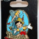 Disney Pinocchio 75th Anniverssary Pin Blue Fairy Jiminy Cricket Limited Edition 2000