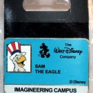 Walt Disney Imagineering WDI Campus I.D. Badge Pin Sam the Eagle Limited Edition 200