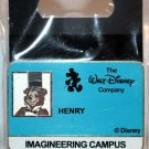 Walt Disney Imagineering WDI Campus I.D. Badge Pin Henry the Bear Limited Edition 200