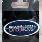 Walt Disney Imagineering WDI 2011 D23 Expo Carousel of Projects Oval Pin Limited Edition 500