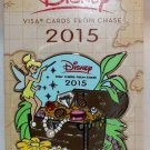 Disney Rewards 2015 Chase Visa Cardmember Pin Tinker Bell